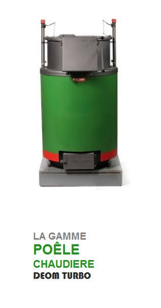 Gamme Poele chaudiere deom turbo